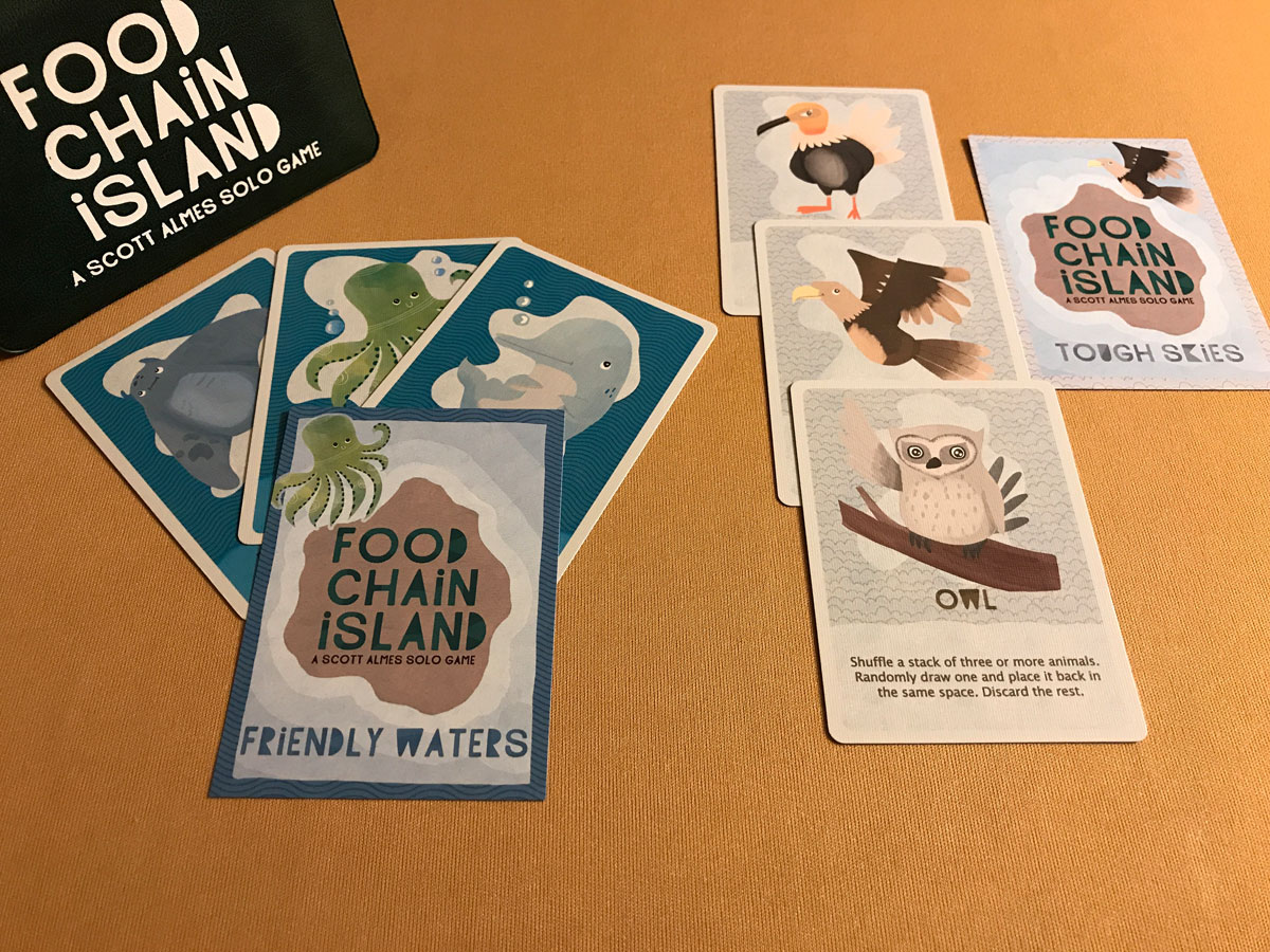 Looking Ahead to New Expansion Animals and Challenges for Food Chain Island