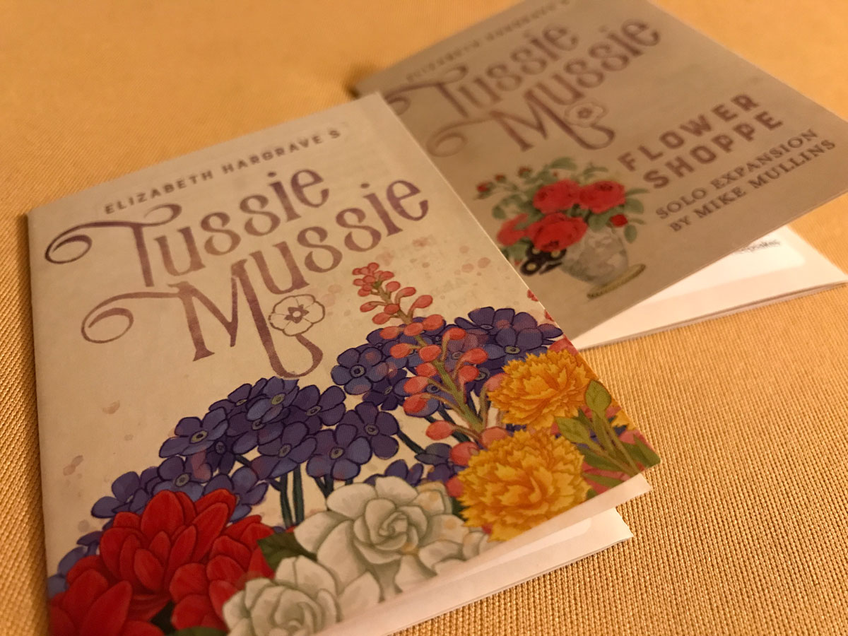 Preparing to Make Some Lovely Bouquets with Tussie Mussie