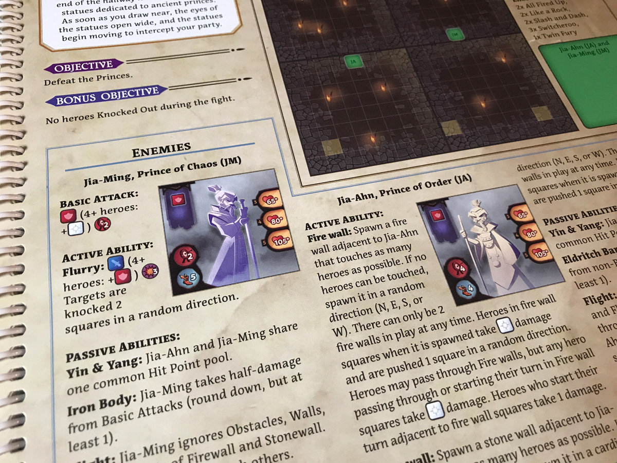 The Perfect Combination of Chaos and Order in a Failed Scenario from Adventure Tactics: Domianne's Tower