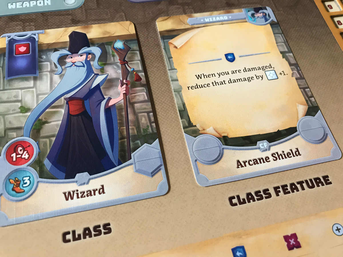 Choosing Elwyn and the Wizard Class in Adventure Tactics: Domianne's Tower