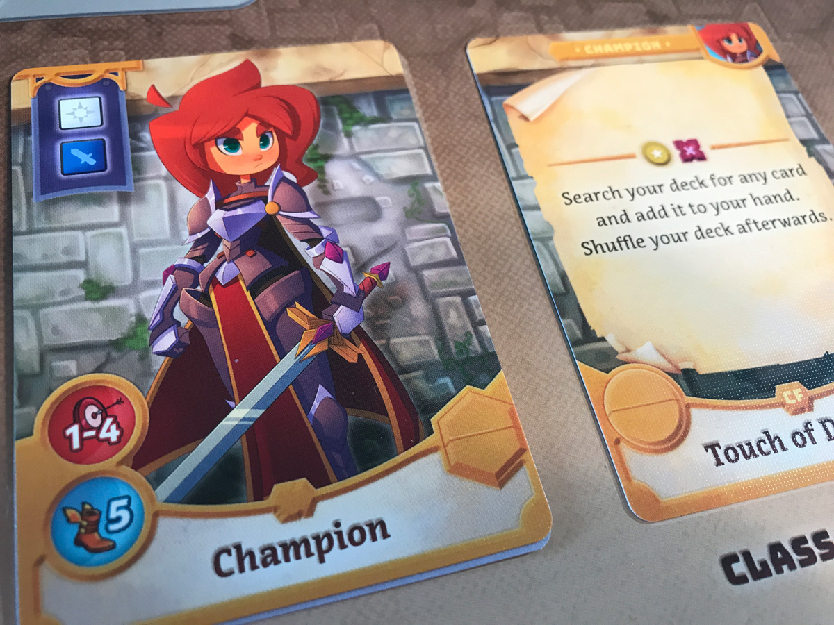 Taking on the Champion Role in Adventure Tactics: Domianne's Tower
