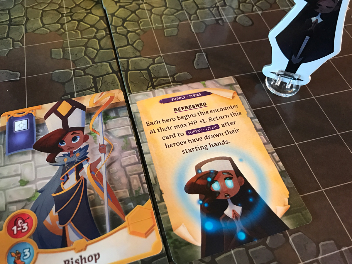 Quill the Bishop and a Refreshed Sort of Feeling in Adventure Tactics: Domianne's Tower