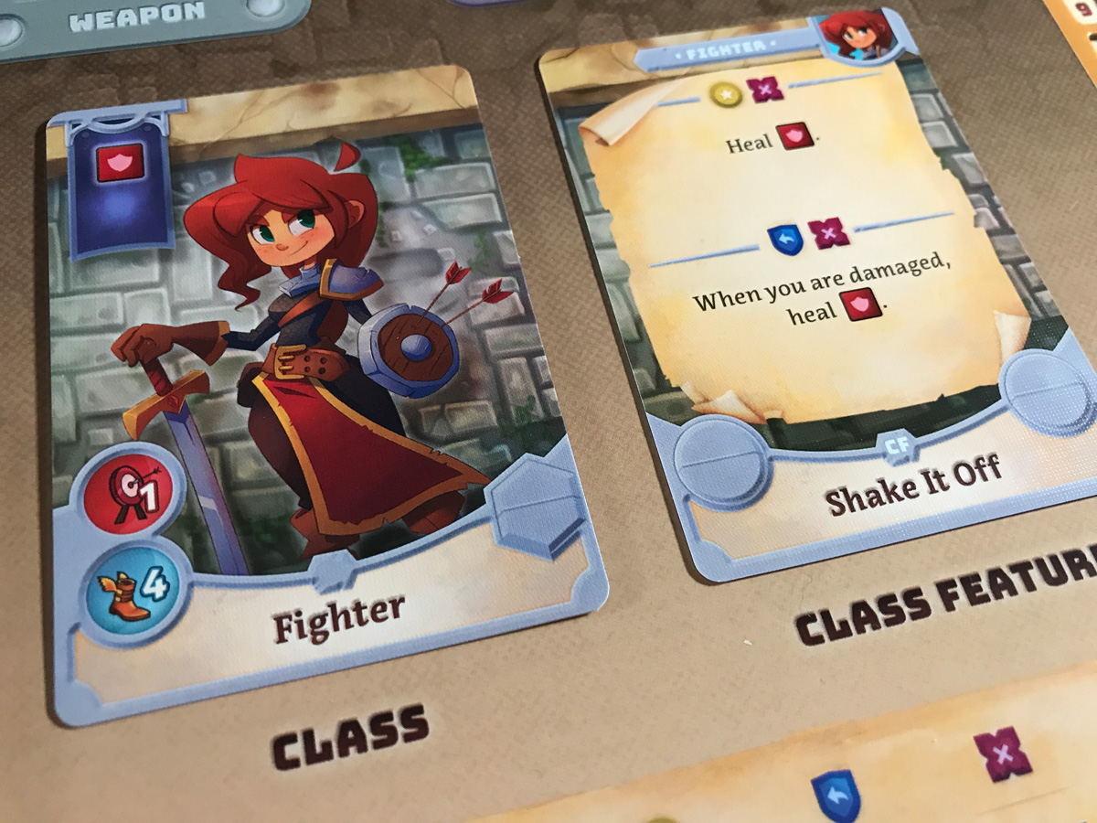 Getting Ready for Anything with Roberta the Fighter in Adventure Tactics: Domianne's Tower