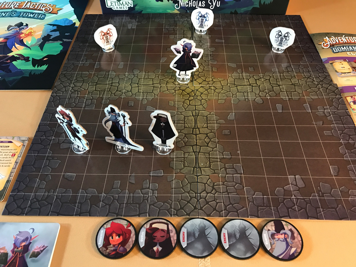 Preparing for Battle in a New Scenario from Adventure Tactics: Domianne's Tower