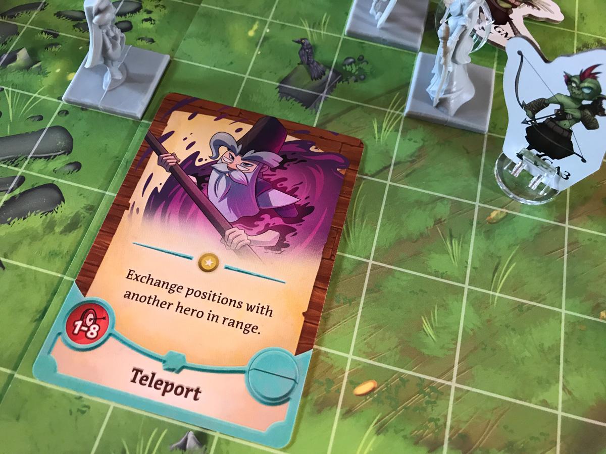 Elwyn's Jump Across the Battlefield in Adventure Tactics: Domianne's Tower