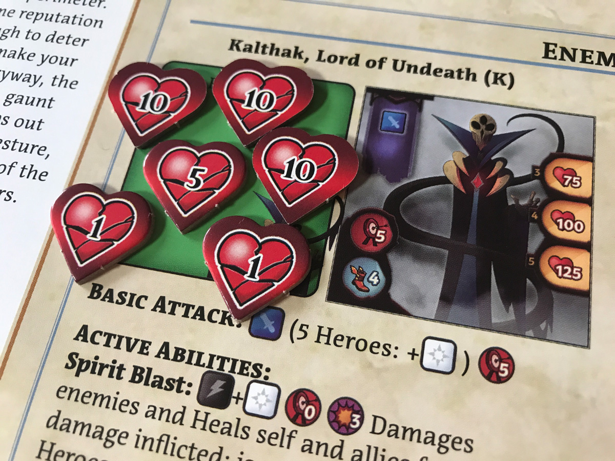 Serious Damage to the Lord of Undeath in Adventure Tactics: Domianne's Tower