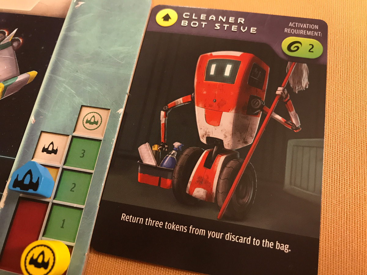An Unlikely Hero in Cleaner Bot Steve from Warp's Edge
