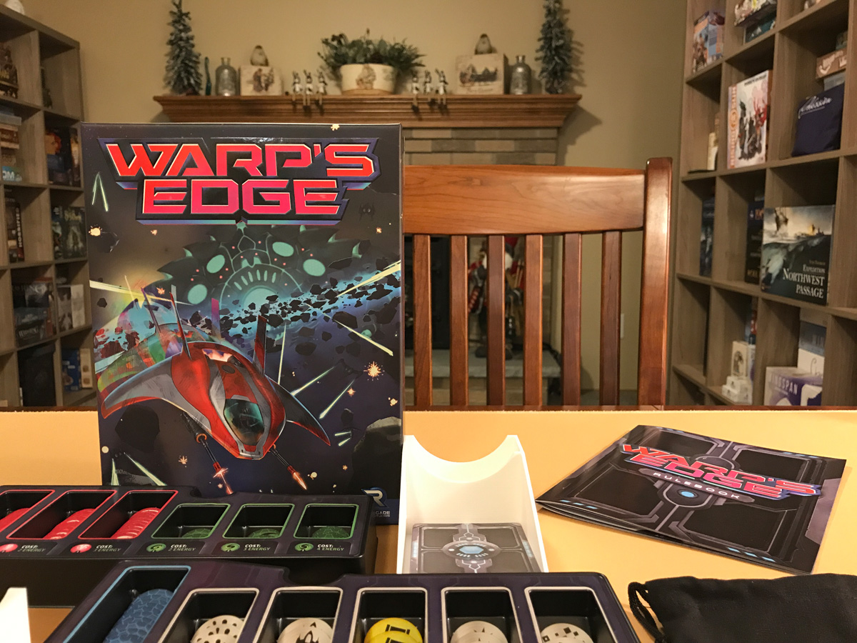 An Early Holiday Gift with Warp's Edge