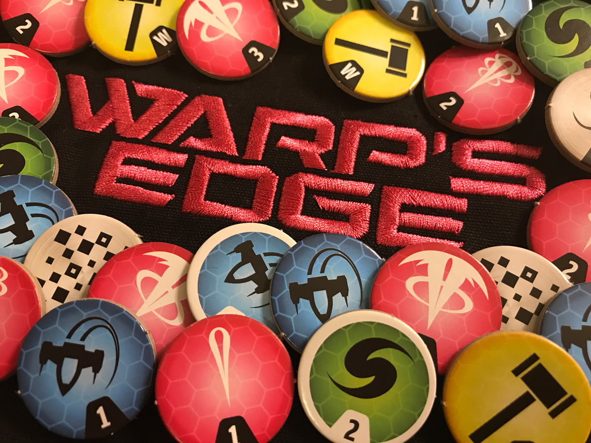 A Bright and Colorful Group of Colors in Warp's Edge