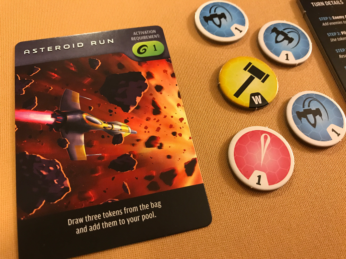 Preparing to Get Started with Actions and an Asteroid Run in Warp's Edge