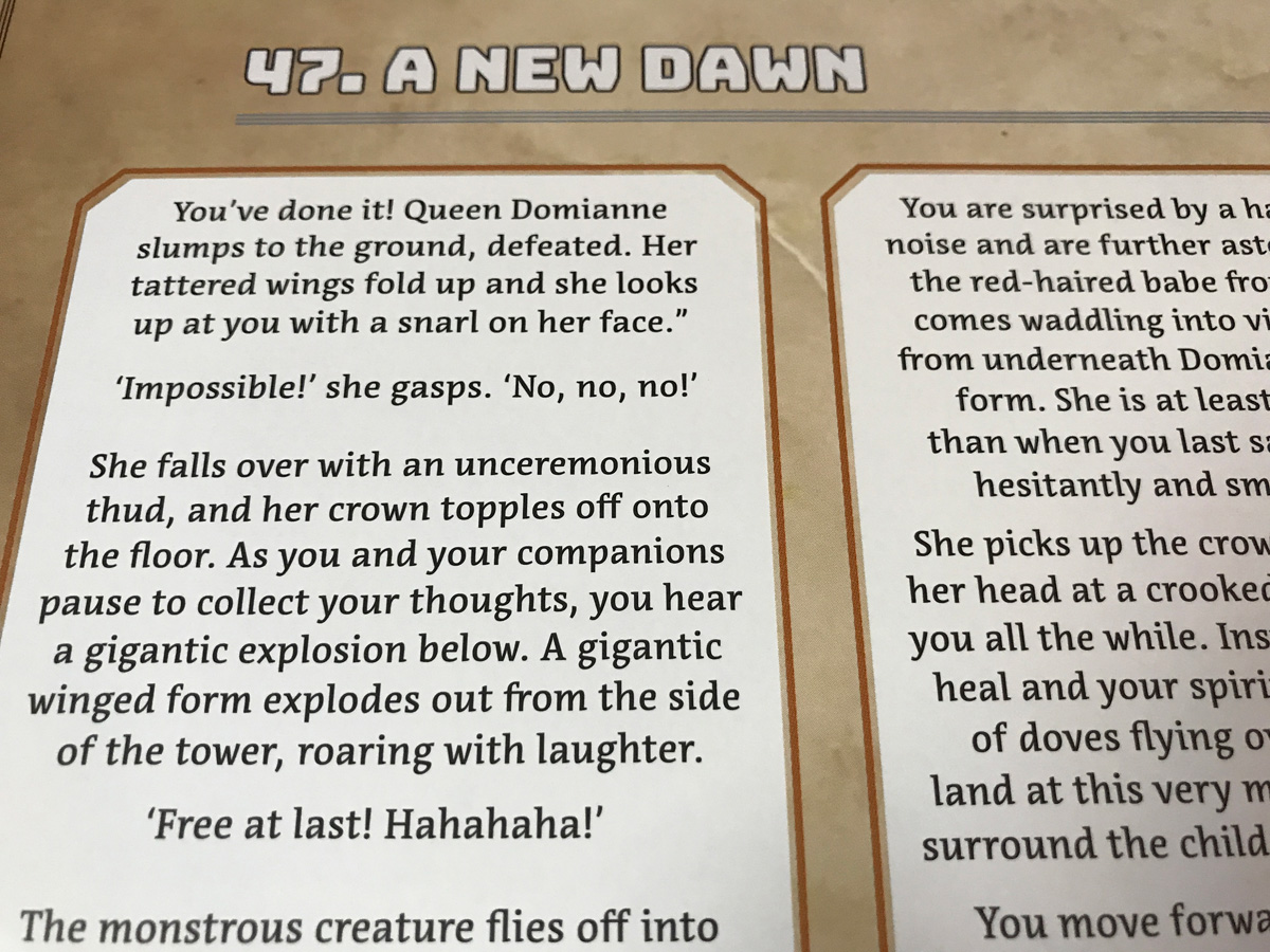 Facing a New Dawn After a Victorious Campaign in Adventure Tactics: Domianne's Tower