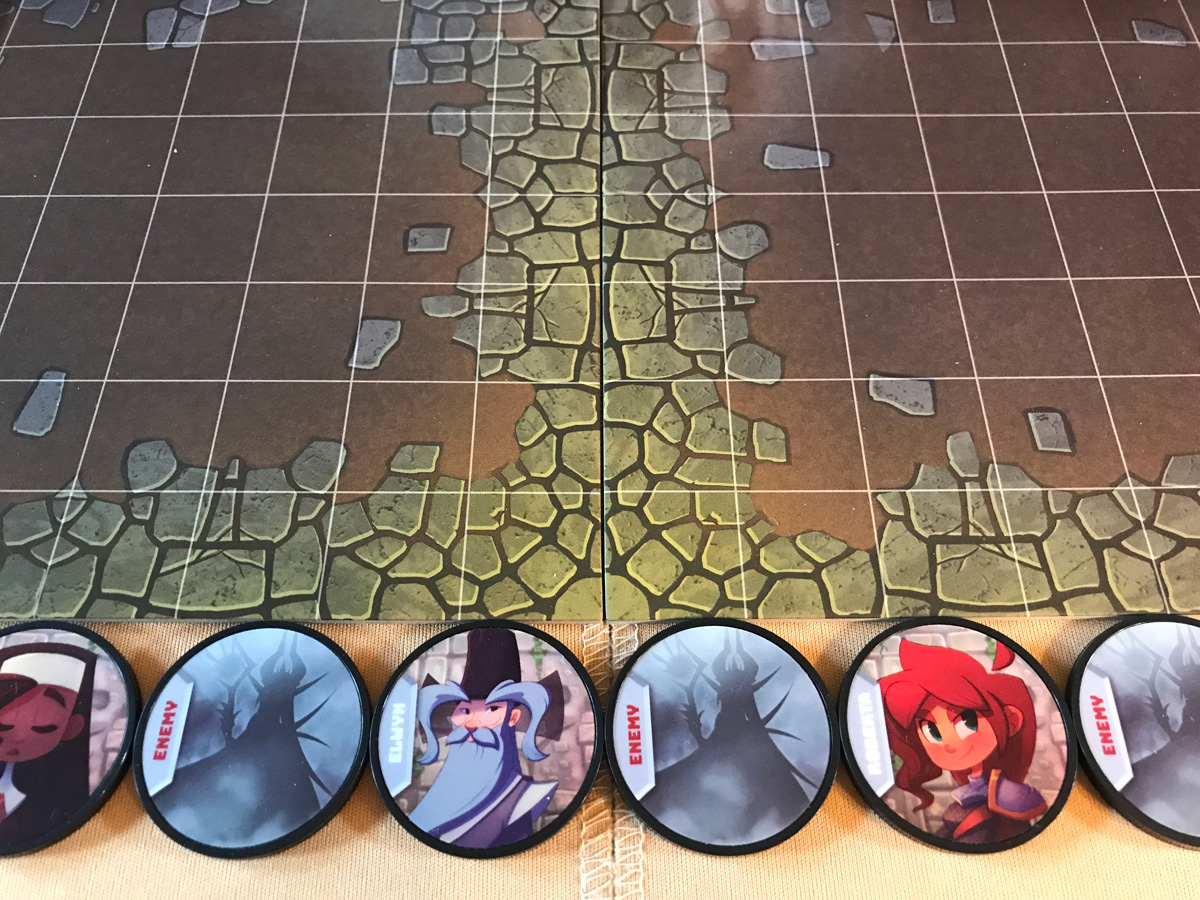 Evening the Playing Field with Another Enemy Initiative Token in Adventure Tactics: Domianne's Tower