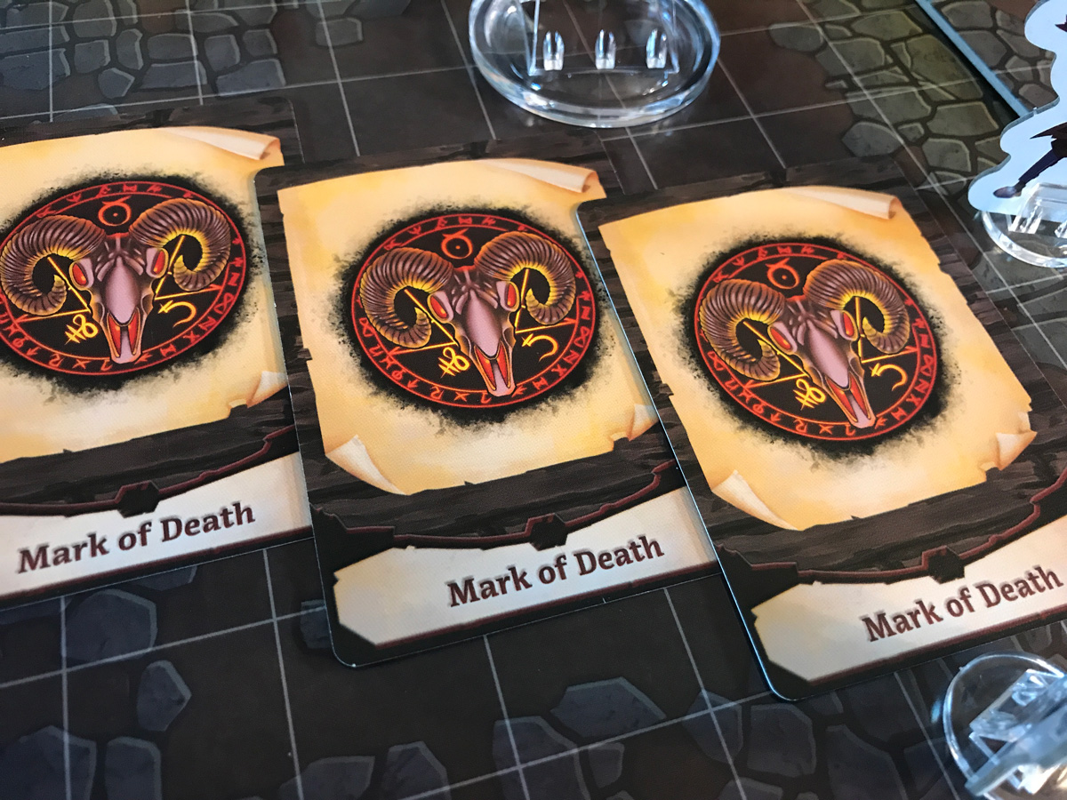 A Dangerous Procession of Marks of Death in Adventure Tactics: Domianne's Tower