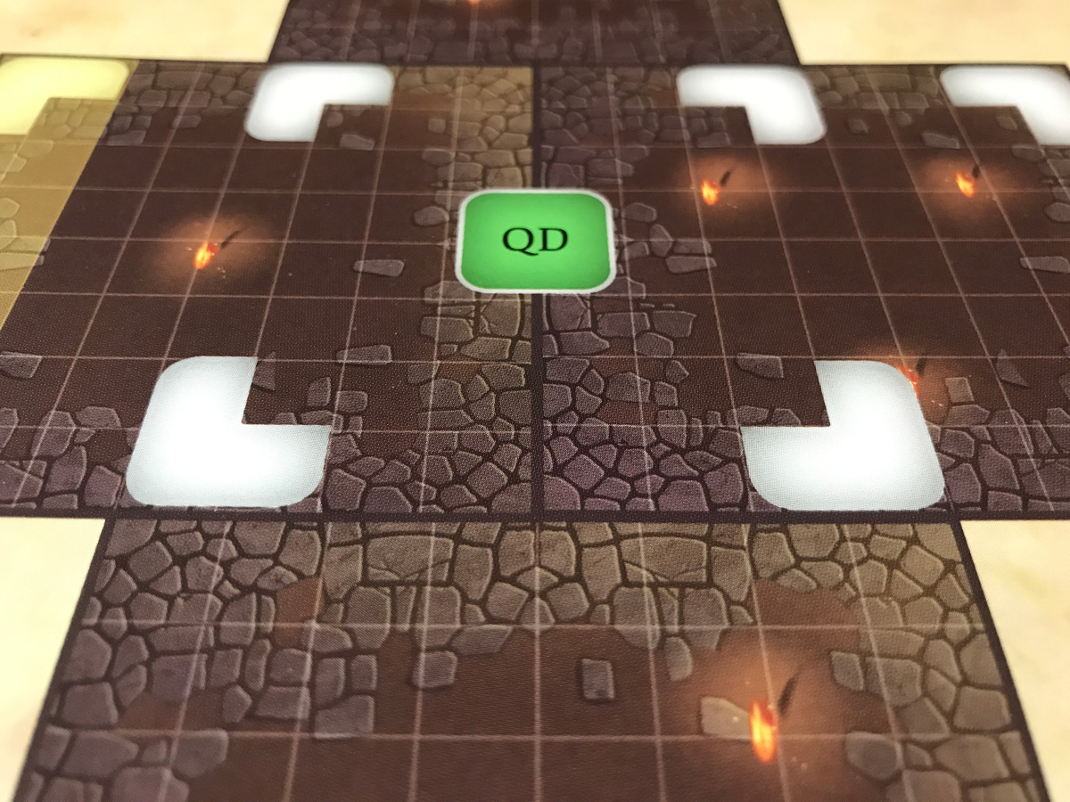Trying to Make Sense of the Scenario Setup in Adventure Tactics: Domianne's Tower