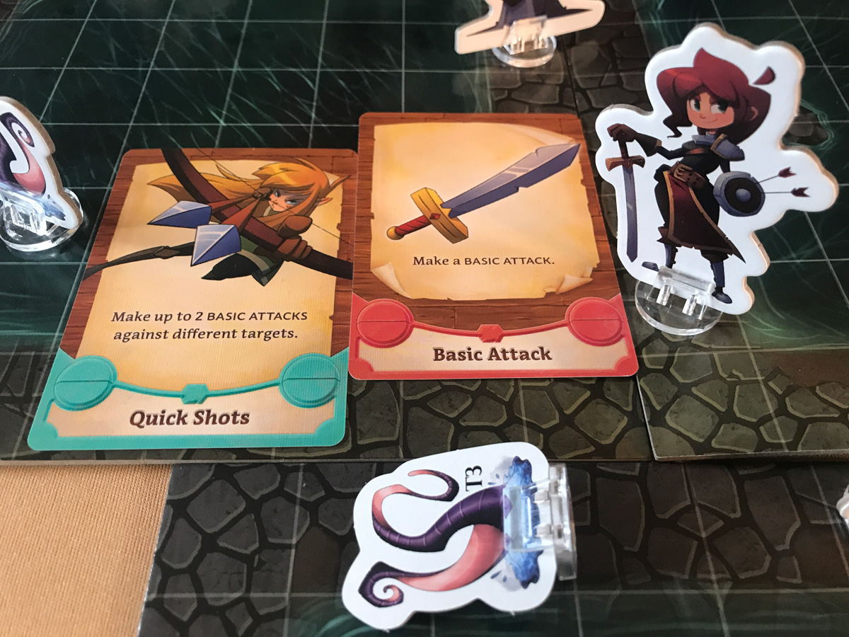 An Awesome Sort of Starting Turn for Roberta in Adventure Tactics: Domianne's Tower