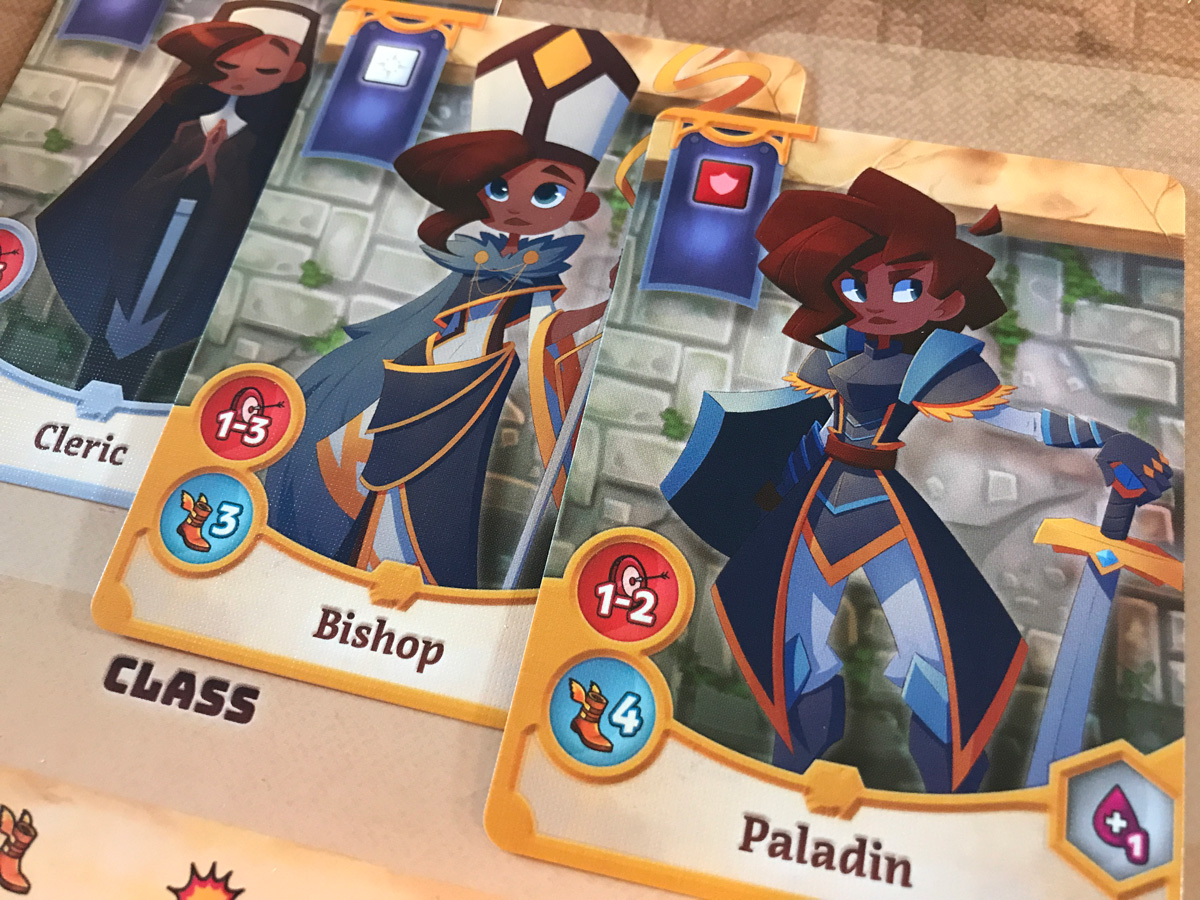 From Cleric to Bishop and Finally to Paladin in Adventure Tactics: Domianne's Tower
