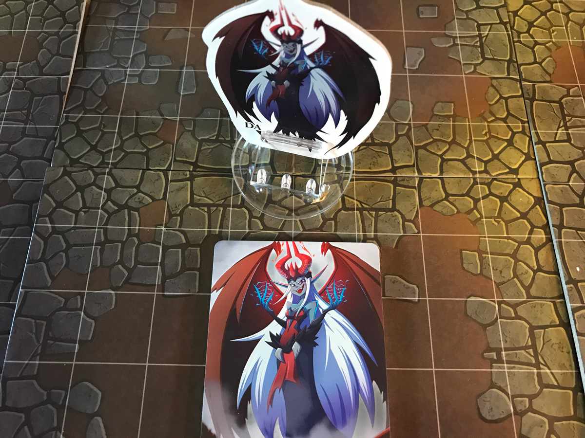 A Familiar but Dangerous New Foe at the End of Adventure Tactics: Domianne's Tower