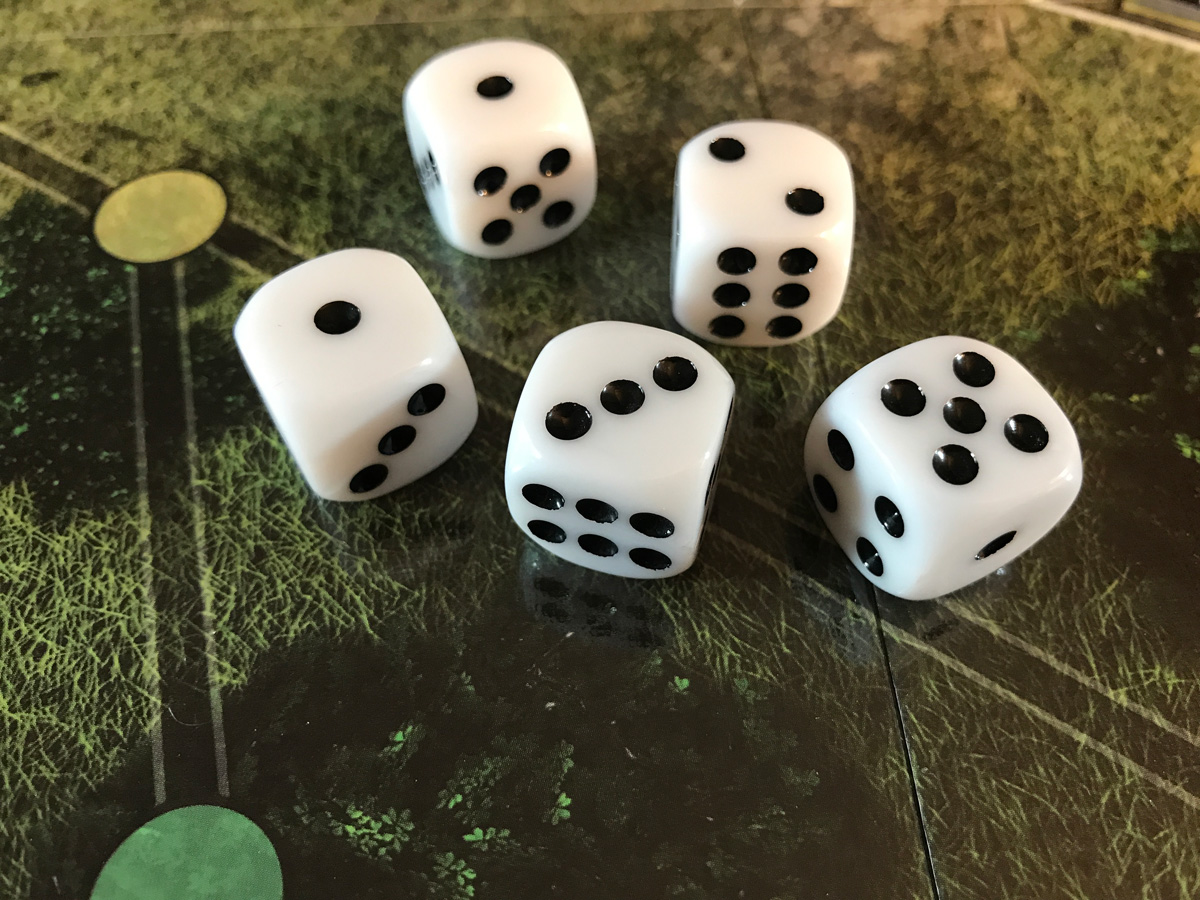 The Set of Dice That Refused to Roll High from Castle Itter
