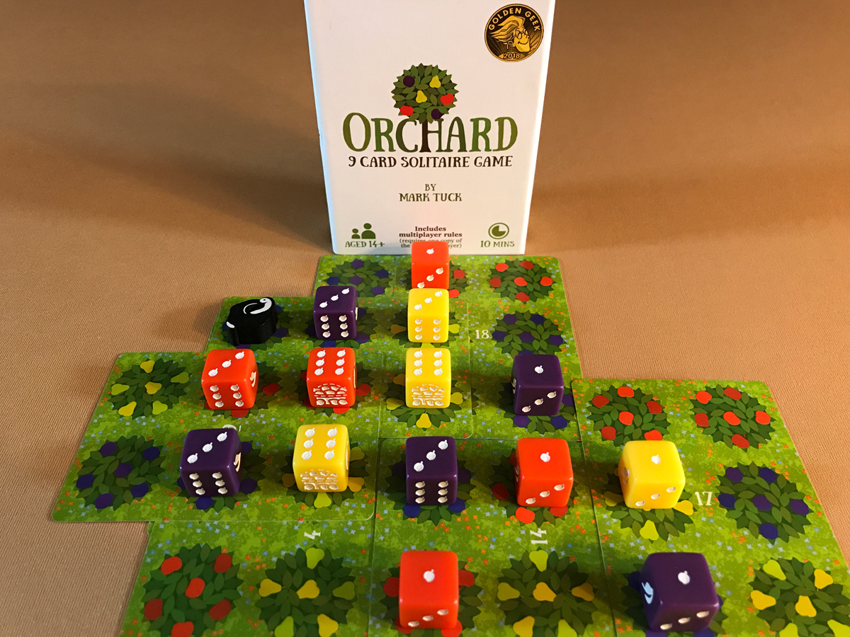 A Cozy and Cheerful Kind of Game with Orchard: A 9 Card Solitaire Game