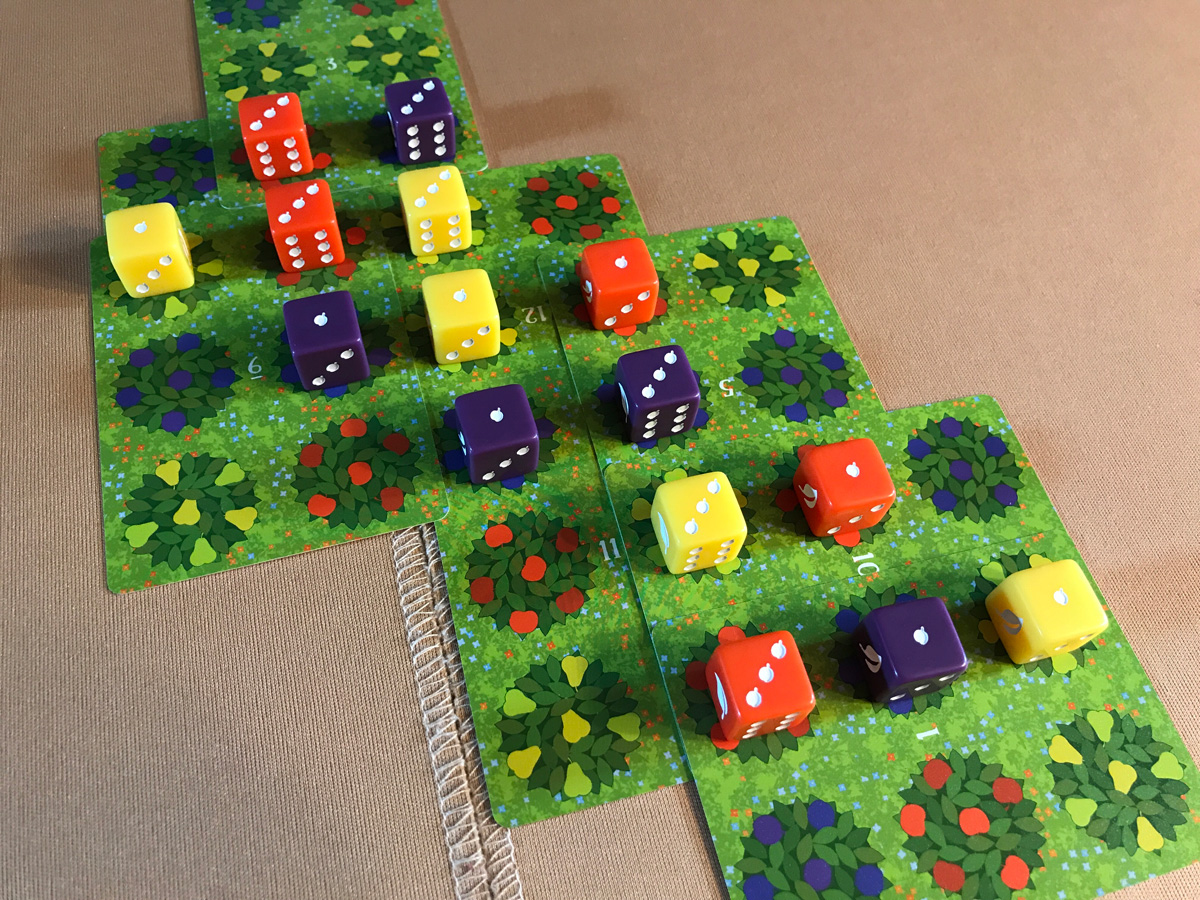 Back to the Fun of Harvesting with Orchard: A 9 Card Solitaire Game