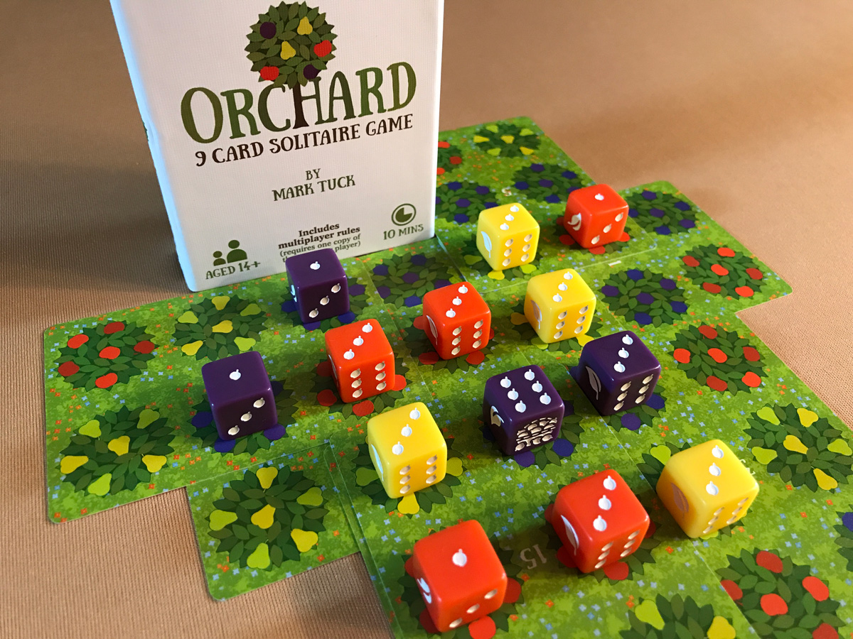 The Simple Joy of Orchard: A 9 Card Solitaire Game