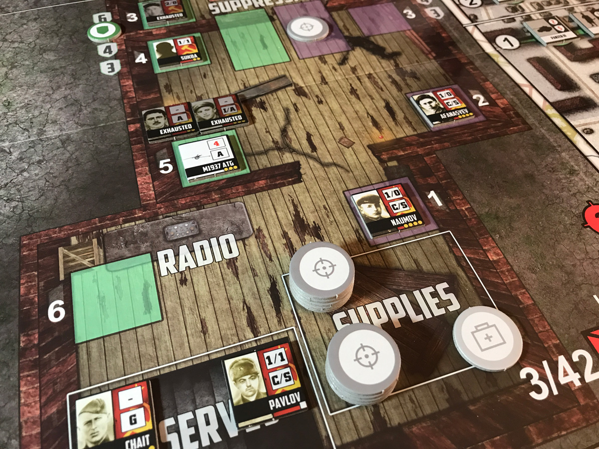 A Successful Defense with Plenty of Supplies and Units in Pavlov's House