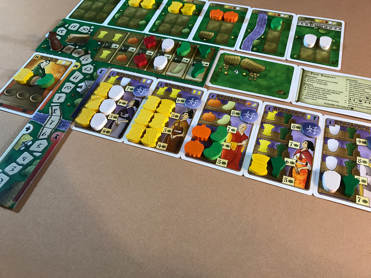 Making a Living Off of the Many Regular Customers in At the Gates of Loyang
