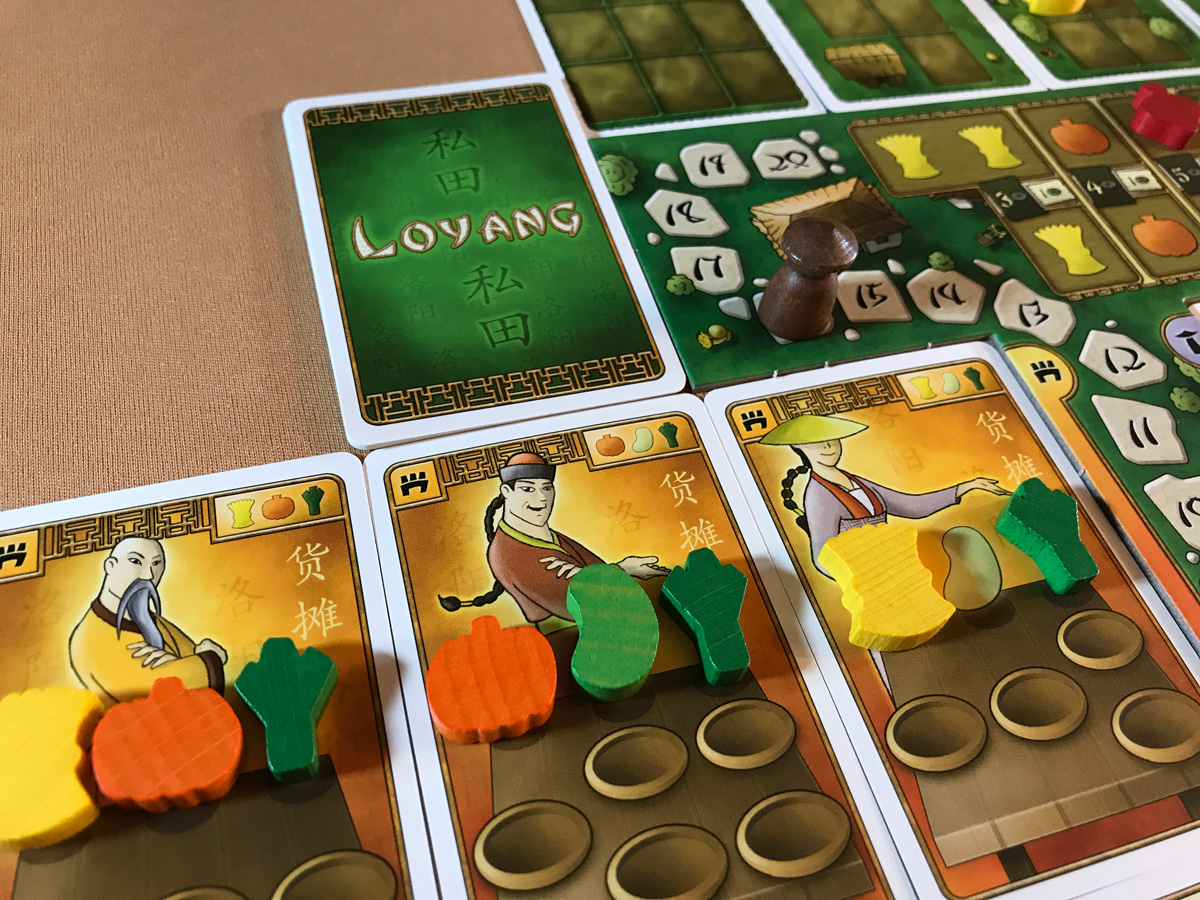 Relying Too Much on Market Stalls in At the Gates of Loyang