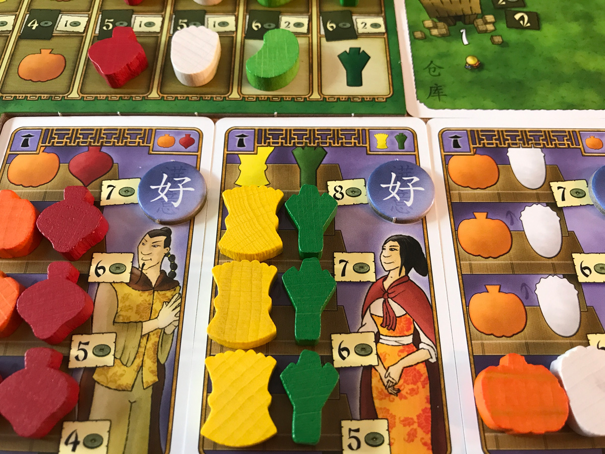 A Steady Stream of Regular Customers in At the Gates of Loyang