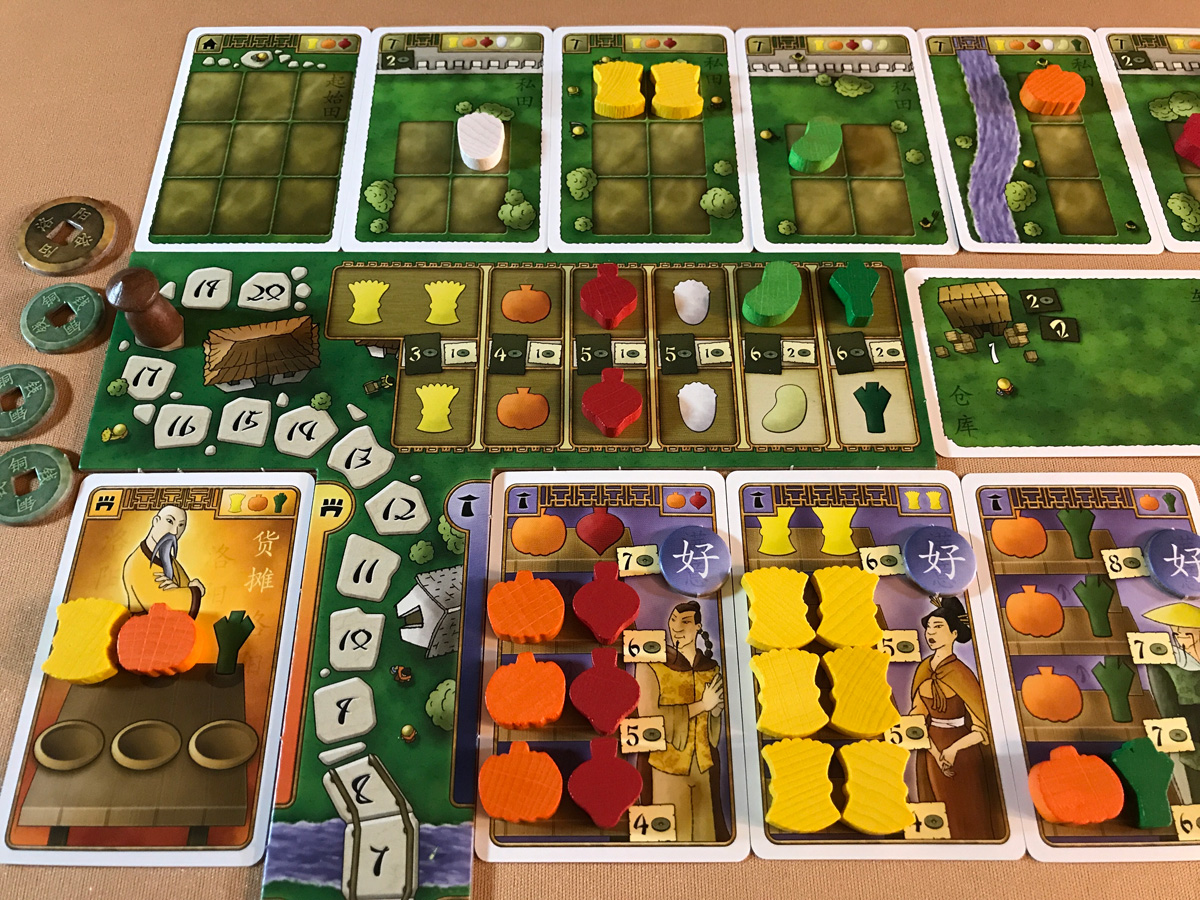 A Glorious Color Scheme and Set of Customers in At the Gates of Loyang
