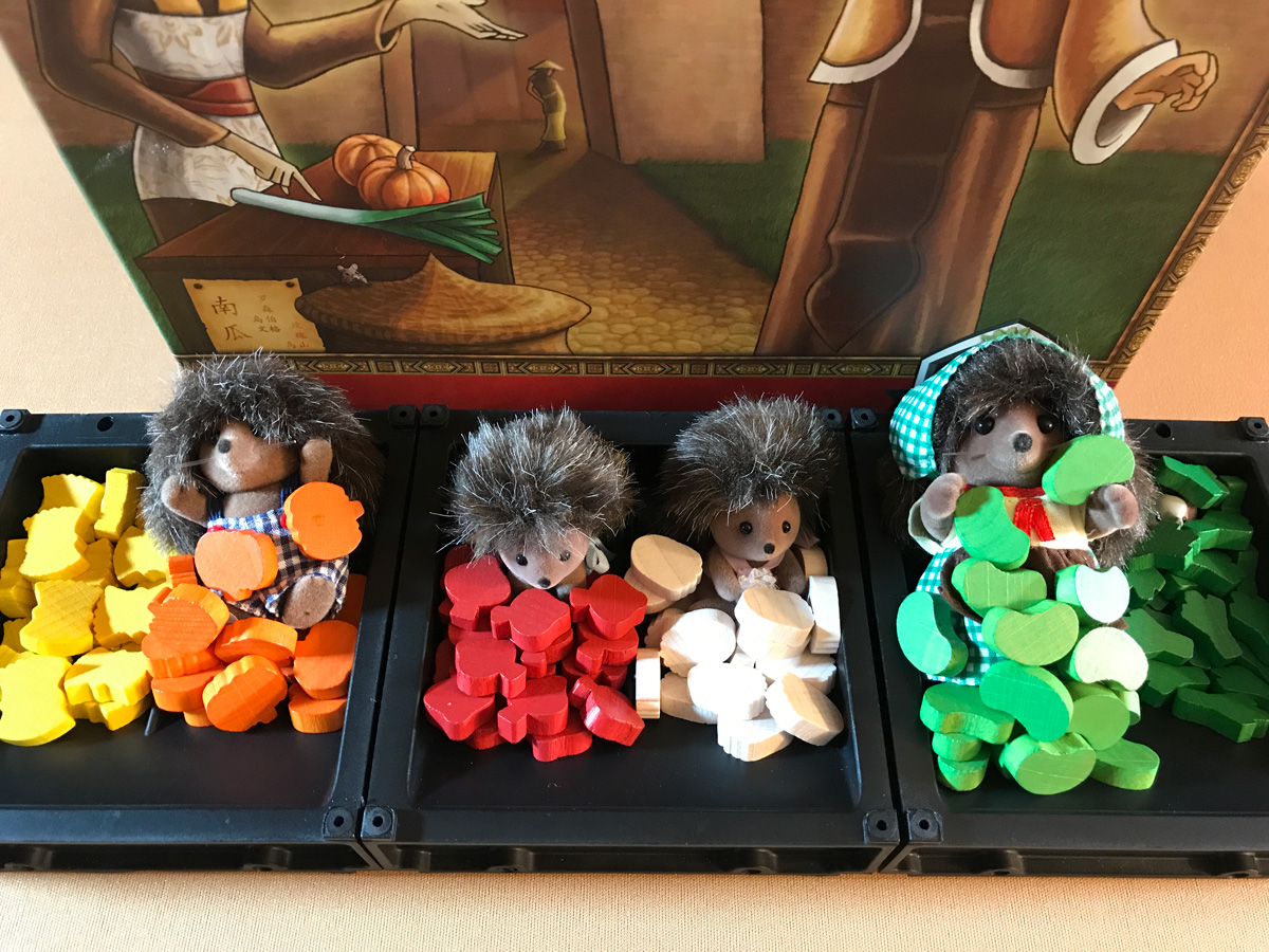 Celebrating the Harvest with Hedgehogs and Vegetables in At the Gates of Loyang