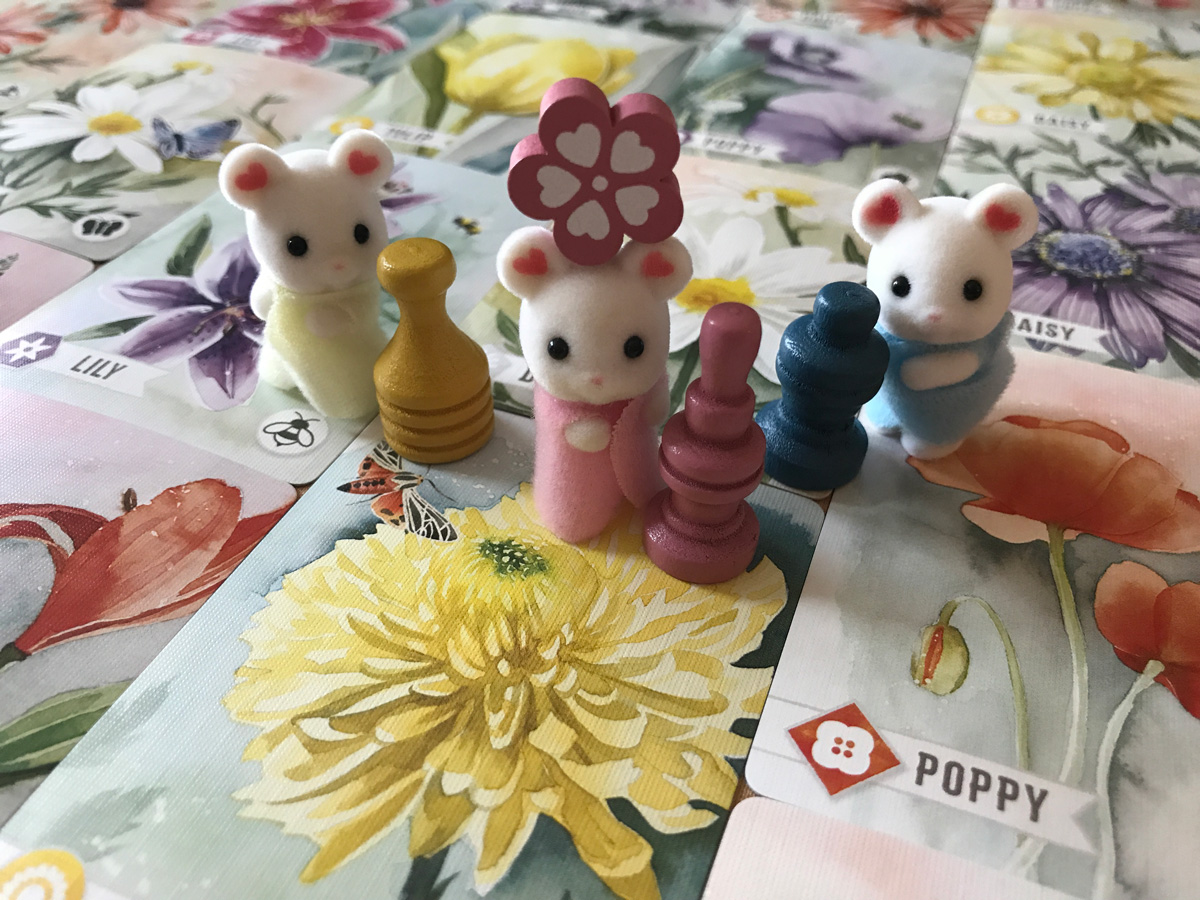 Everything Nice About Tiny Mice and a Floriferous Garden