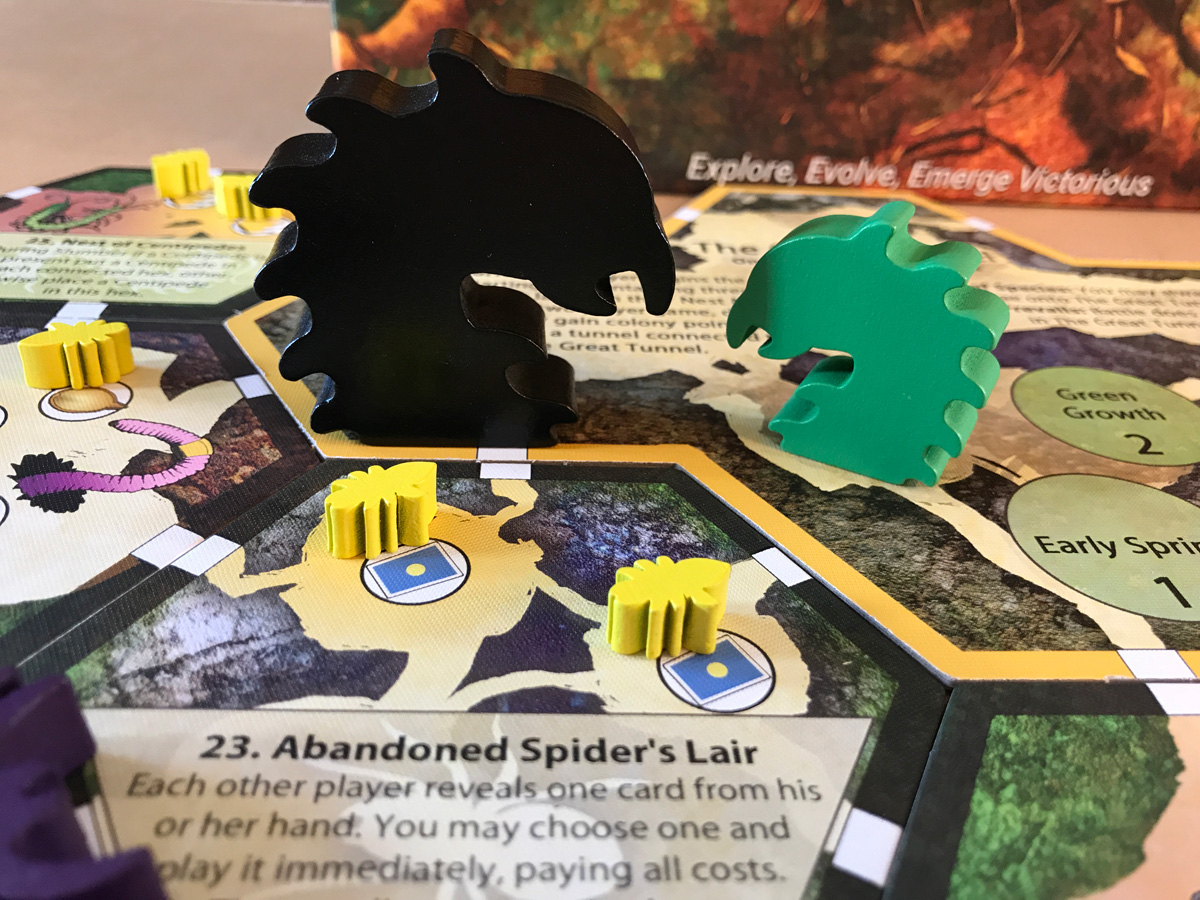 Finding the Giant Broodmother in March of the Ants