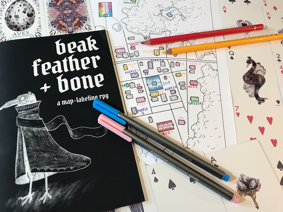 Beak, Feather, and Bone: Creating Characters with a Map