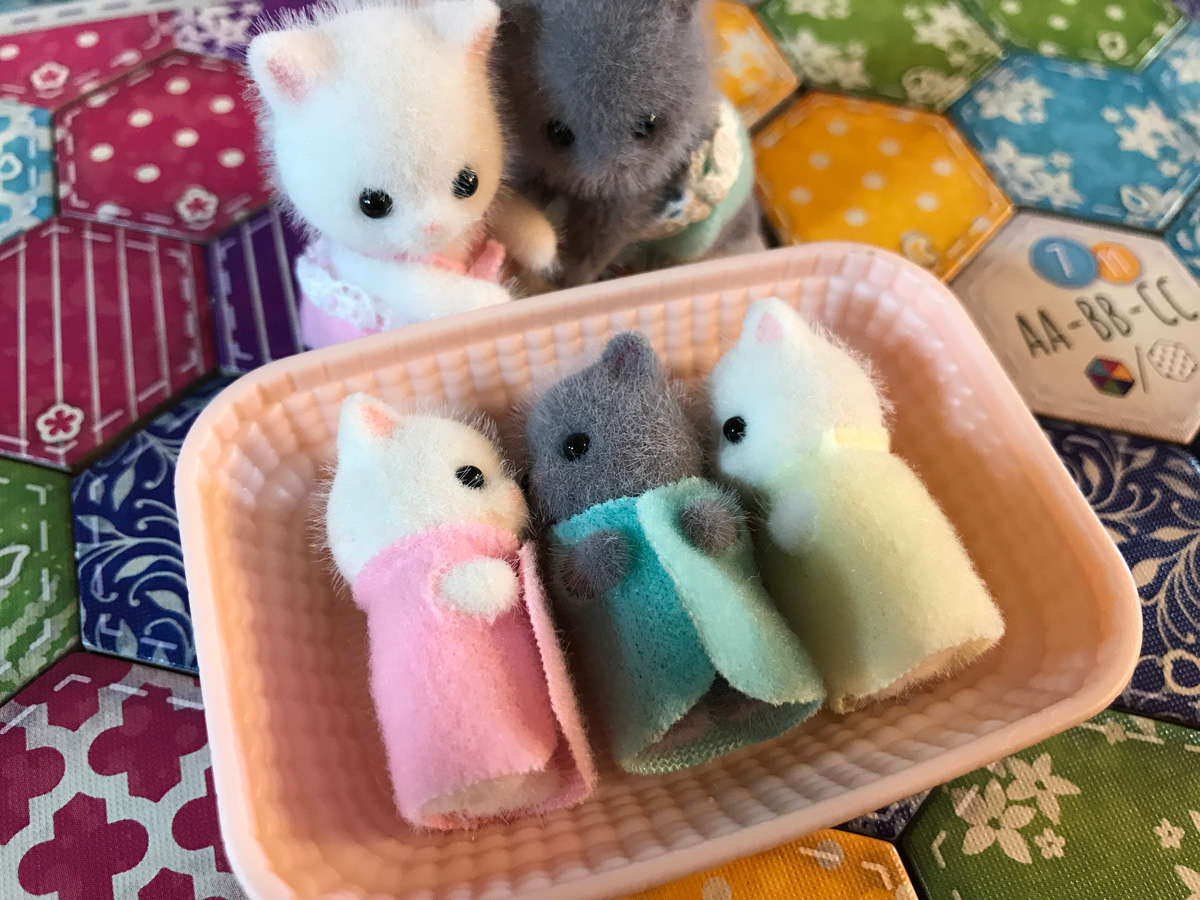 The Real Test of Victory with the Calico Critters and Calico