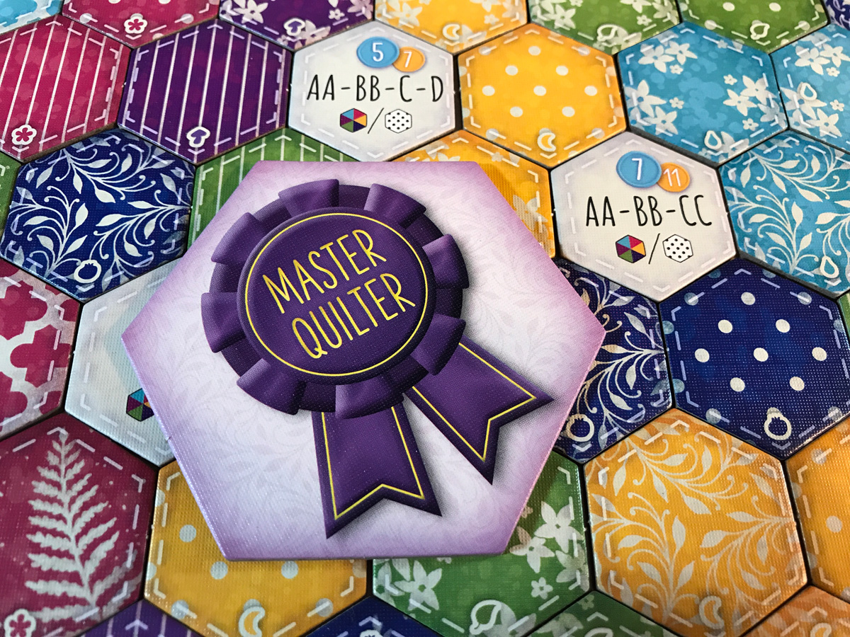 Shamelessly Taking the Master Quilter Award in Calico