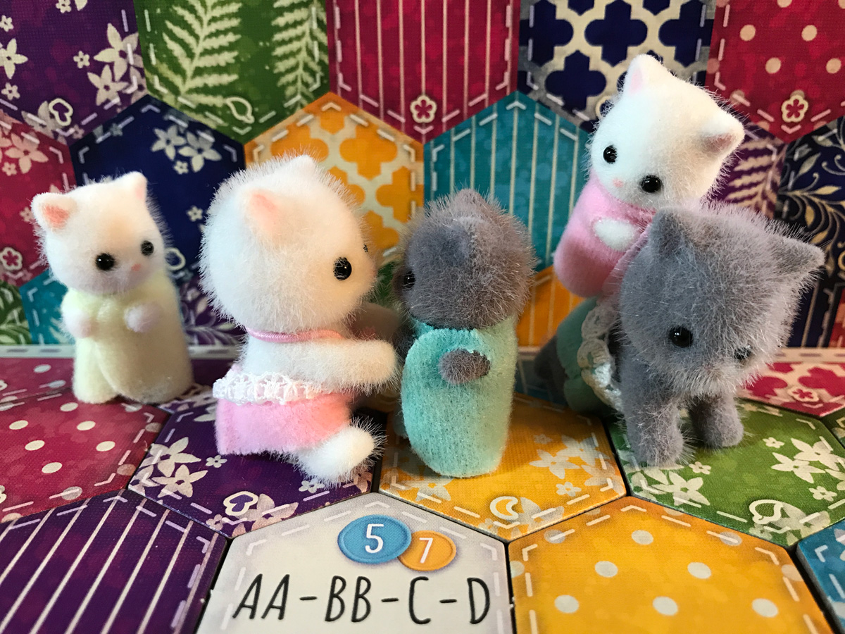 Enjoying All the Colors with Calico Critters and Calico
