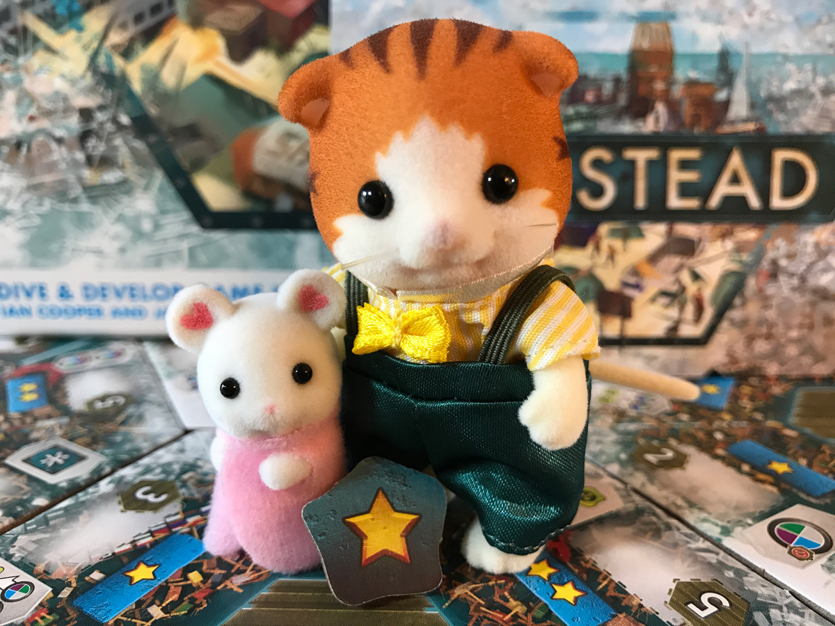 Seastead with Captain Calico Critter and Diving in the Sea