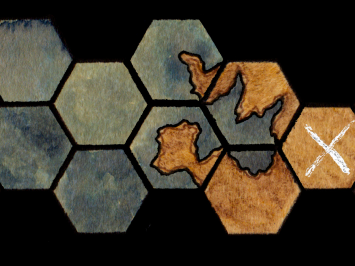 The Beauty of Handcrafted Tiles in Hex Kit with a Winds of the North Map