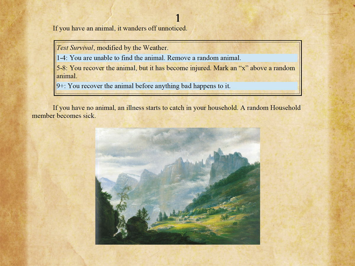 The Unpredictable Nature of Random Encounters and Dice in Winds of the North
