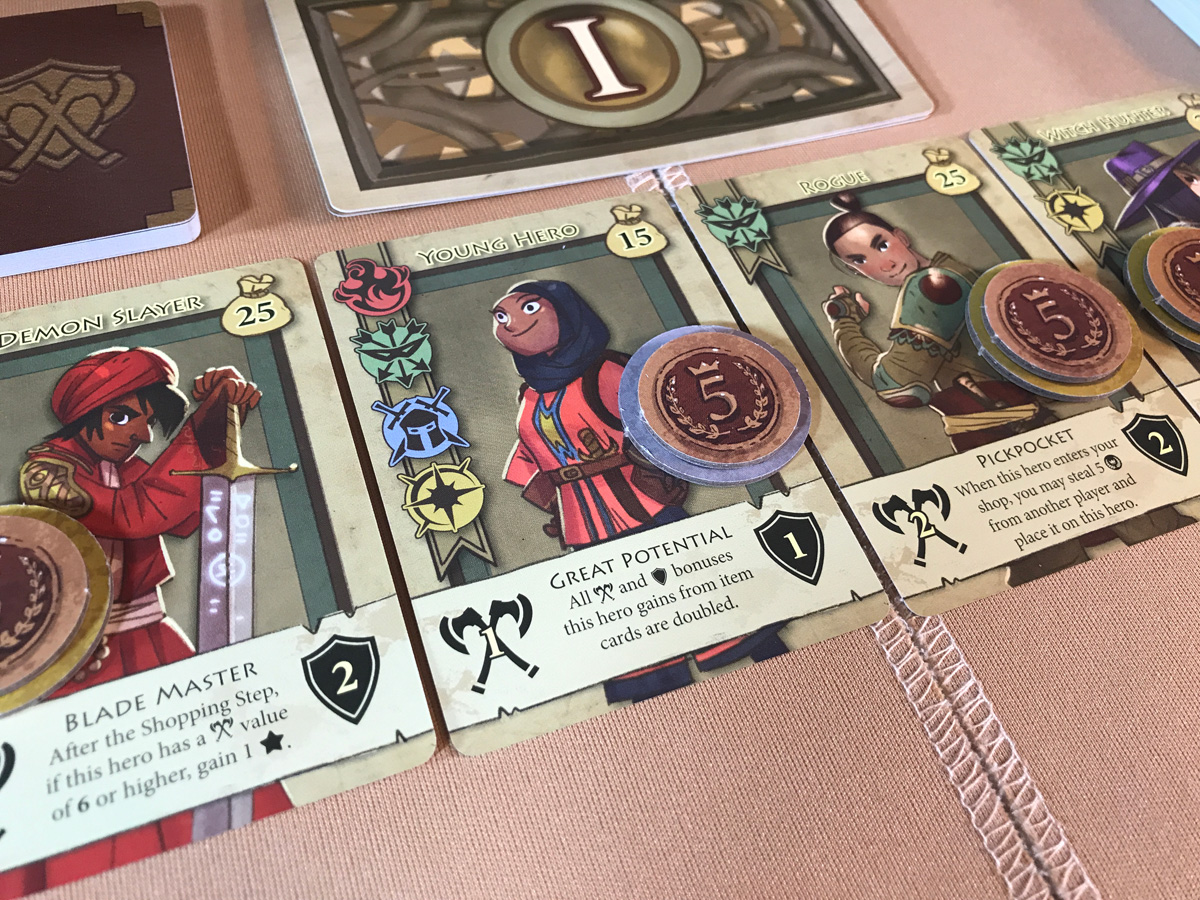 Taking a Look at Potential Customers in Bargain Quest