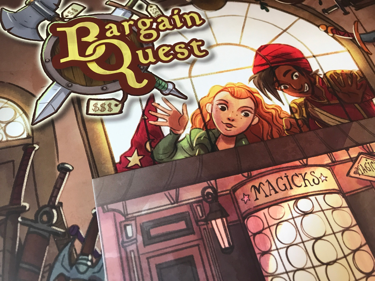 Choosing a Lovely Shop to Manage in Bargain Quest
