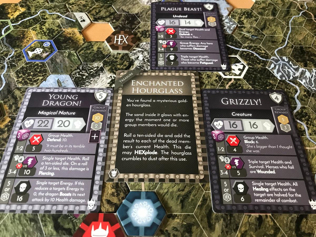 The Fallen Allies from the Final Showdown in HEXplore It