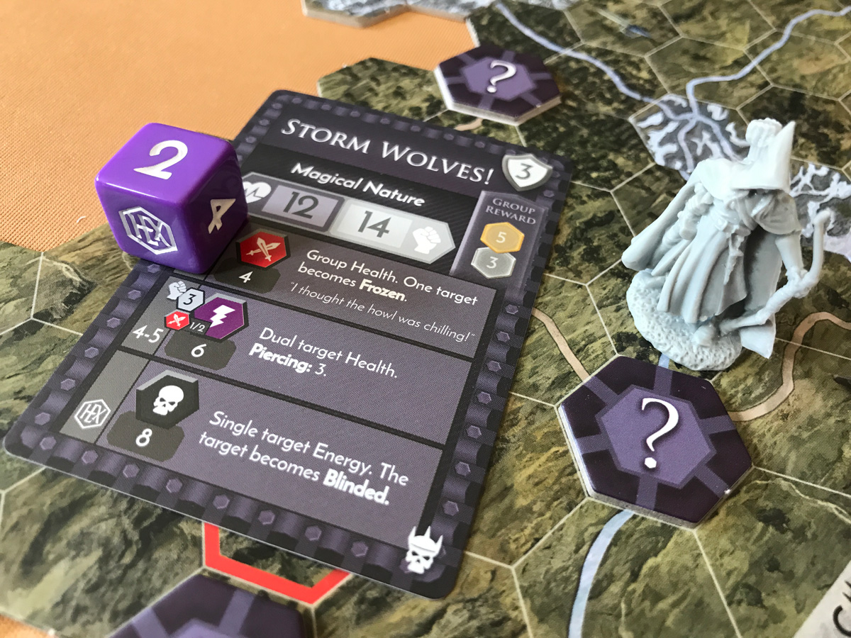 Moving Out Into the Wilds and Encountering Storm Wolves in HEXplore It