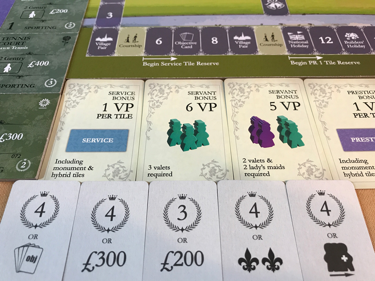 Putting Together the Objectives and Victory Points in Obsession