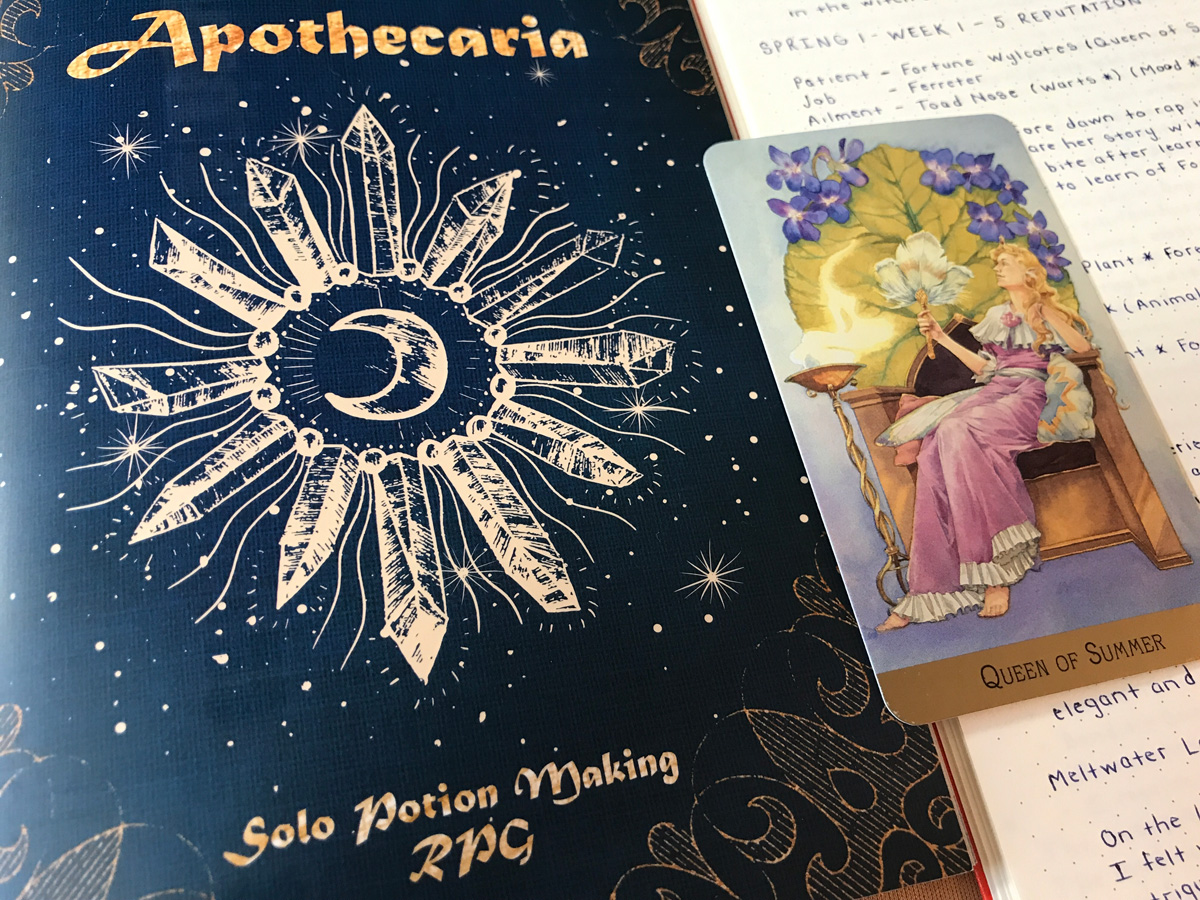 Finding a Burst of Solo RPG Creativity with Apothecaria